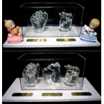 CRYSTAL CLEAR INFANT'S CASTING KIT ( Creates 4 statuettes)