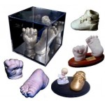 DIY Baby Casting Kit (makes 4 X 3D Statuettes)