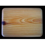 "BASE/PLAQUE - 5"" x 7"" RECTANGLE. SOLID PINE"