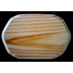 """BASE/PLAQUE - 5"""" x 7"""" TRADITIONAL. SOLID PINE"""