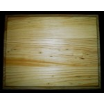 "BASE/PLAQUE - 7""x9"" RECTANGLE. SOLID PINE"